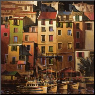 Mediterranean Gold Mounted Print by Michael OToole