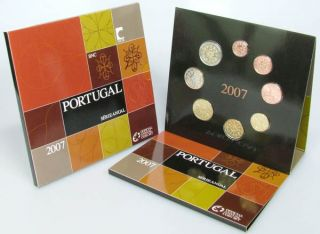 Kursmünzensatz (orig., nom. 3,88 Euro) 2007 vz st Blister und Schuber