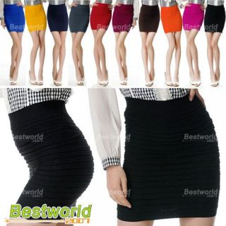 Fashion Women Girls Ladies Bodycon Bandage Ribbed Short Stretch Mini