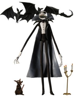 VAMPIR JACK SKELLINGTON SDCC 2008 FIGUR NIGHTMARE BEFORE CHRISTMAS