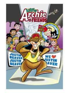 Archie Comics Cover: Archie & Friends #155 Little Archie Pets Featuring Justin Beaver Print by Fernando Ruiz