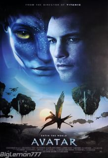 James Cameron AVATAR Movie Poster # 2 24x35
