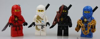 LEGO Ninjago   Figurenset   Cole, Kai, Jay, Zane a.2113