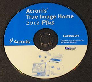Acronis True Image Home 2012 Plus + Universal Restore Vollversion Box
