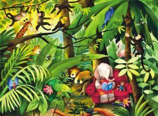 Wandbild Dschungel Afrika Kinderzimmer Foto Tapete 138702 2013