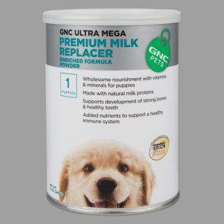 GNC Ultra Mega Premium Powdered Milk Replacer for Puppies   Sale   Dog