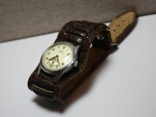 ZENTRA KM   GERMAN MILITARY WRIST WATCH WW2. Caliber 334