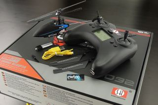4G 4CH 4 Channel 2.4GHz RC Radio Control Single Blade Helicopter