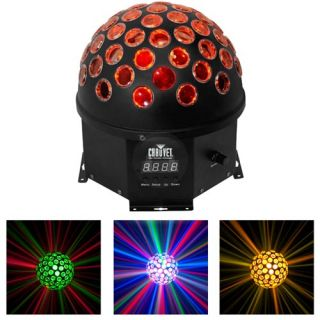 Chauvet Hemisphere 5 LED RGBWA DMX DJ Disco Equipment Lighting Mirror