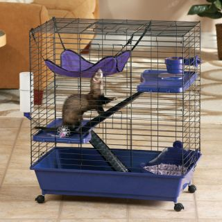 Small Pet Cages, Habitats & Hutches All Living Things� Deluxe Ferret Kit