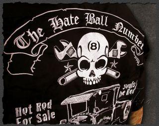 BILLY EIGHT★Rockabilly Hot Rod Work Shirt Tattoo Worker Herren Hemd