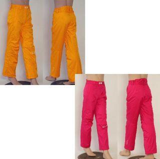 ZIENER AVA 11/12 Kinder Skihose Snowboardhose 7.000mm orange & pink Gr