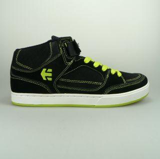 Mens Sk8 High Top Sneaker Number Mid schwarz grün Gr. 42