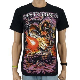 Disturbed   Asylum Tank Band T Shirt, schwarz