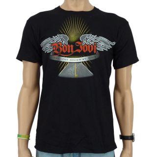 Bon Jovi   Wing Event Band T Shirt, schwarz