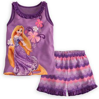 Disney Pyjama Schlafanzug Arielle,Rapunzel,Merida,Cinderella,Pinzessin