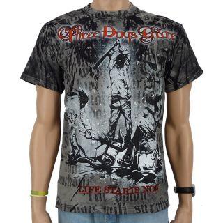 Three Days Grace   Life starts now Band T Shirt, schwar
