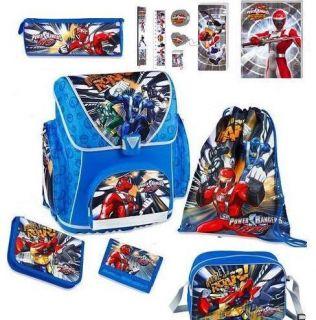 Disney Power Ranger Schulranzen Set Rangers Sporttasche