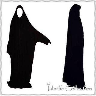 Schwarz   Jilbab Hijab Niqab Islamische Kleidung 16 0005