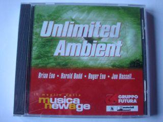 UNLIMITED AMBIENT CD Brian Eno Harold Budd Roedelius Brian Eno Jon