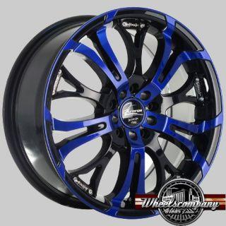 18 Alufelgen Barracuda Tzunamee blau 5x100 Audi A1 A3 TT Seat Ibiza