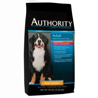Authority� Adult Large Breed Weight Management Chicken Dog Food   Sale   Dog