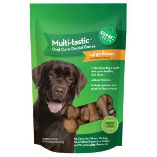 GNC Pets® Multi tastic Oral Care Dental Bones for Dogs   Sale   Dog