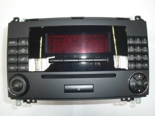 Mercedes Benz Auto Radio Audio 20 CD A1698700689 Vito Viano 639