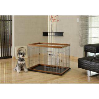 Richell USA 2 Way Door Pet Pen w/Floor Tray   Dog   Boutique