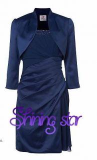 cocktaildress prom ball gown Bolero Jacket UK 4 26 MtM New