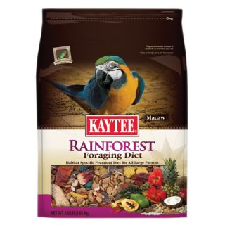 KAYTEE� Foraging Rainforest Macaw Bird Food   Sale   Bird