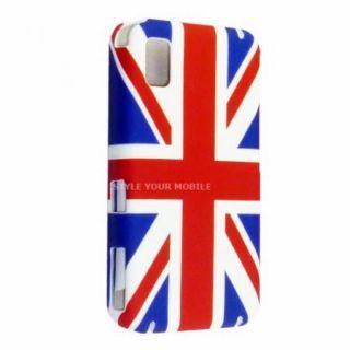 FOR SAMSUNG TOCCO LITE S5230 UK FLAG ENGLAND FLAG UNION JACK HARD CASE