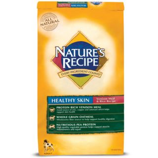 Nature's Recipe Venison Meal & Rice Dog Food   Food   Dog