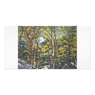 in Estes Oil Landscape Painting Photo Card Template