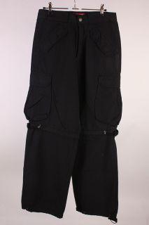 MAZINE TSUNAMI Cargo Pant Hose Gr.28 schwarz NEU x7867