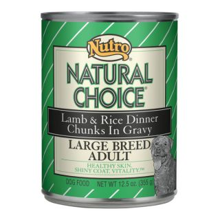 Nutro® Natural Choice® Large Breed Adult Canned Dog Food   Sale   Dog