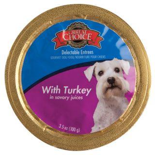 Grreat Choice� Turkey in Savory Juices Flavor Dog Food   Sale   Dog