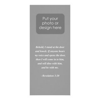 REVELATIONS 320 Bible Verse Rack Card Design
