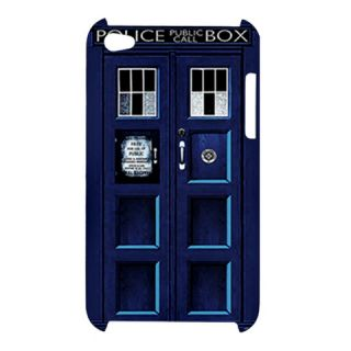 Dr Who Tardis Police Call Box Apple iPod Touch 4G Hardshell Case Cover