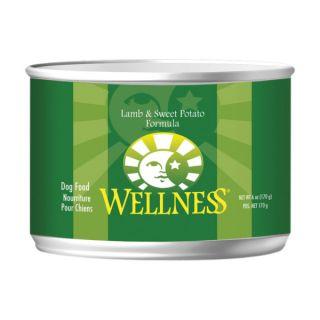 Wellness Lamb & Sweet Potato Canned Dog Food   Sale   Dog