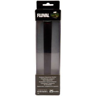 Fluval Edge 25W Compact Heater   Heaters & Accessories   Fish