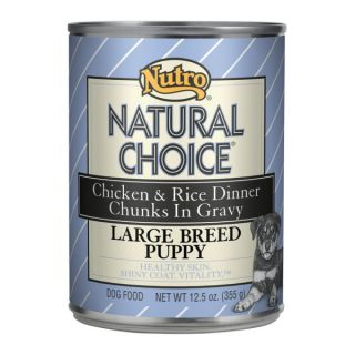 Nutro� Natural Choice� Large Breed Puppy Canned Dog Food   Sale   Dog