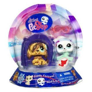 Littlest Pet Shop   Frosty Fortress 2009   Chilliest   Seehund weiß