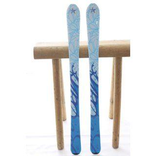 140 cm PALE BLUE SKY Jugendski Mädchen CARVER Carving Ski + Bindung