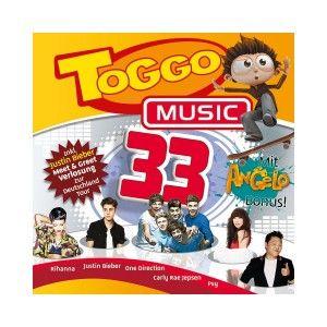 TOGGO MUSIC 33 (RIHANNA/JUSTIN BIEBER/ONE DIRECTION/PSY/+) CD 23
