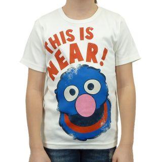 Logoshirt   Sesamstrasse Grobi Near Kinder T Shirt, alm