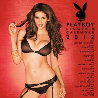 Playboy Lingerie 2012 Calendar Perfect Timing Inc