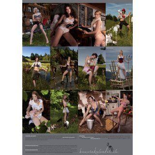 Schweizer Bauernkalender 2013 Girls Der Kalender von dem alle