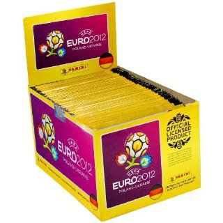 Panini 000603S   UEFA Euro 2012 Sammelsticker Display, 100 Tüten mit