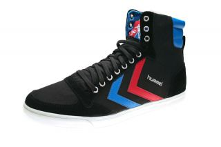 Hummel Sneaker Slimmer Stadil High Canvas Black/Blue/Red Gum